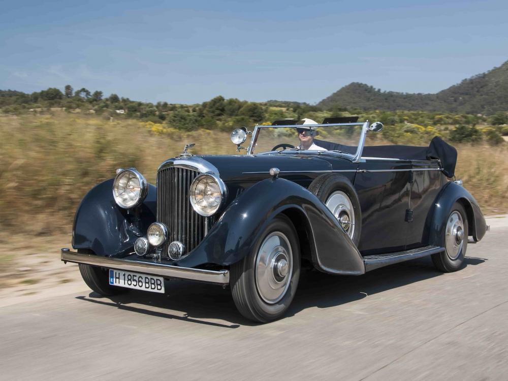 Bentley 4 1/4 phaenton all weather