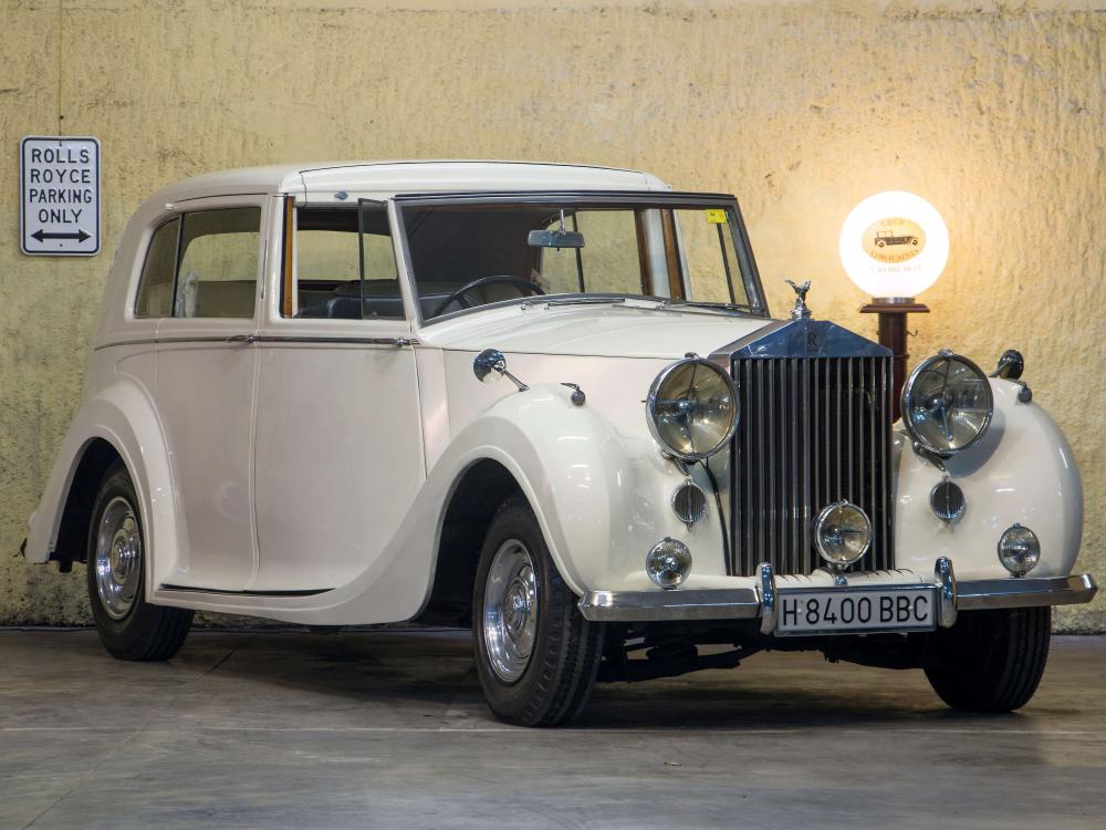 """Rolls-Royce Silver Wraith """"Sedanca de Ville"""""""
