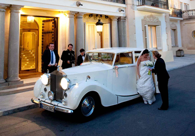 Bodas y eventos especiales - Grup Limousines Arrive in style